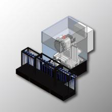 【立形M/C】シャフト・バー材端面加工 自動化ラインのご提案 製品画像