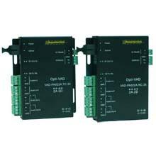 4系統接点⇔シリアル信号変換 接点信号伝送器VAD-4CC-xx 製品画像