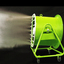 ミストとファンで広範囲に暑気対策 ミスト噴霧送風機 もやジェット 製品画像