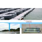 水上型太陽光発電のSpreader Bar加工 製品画像