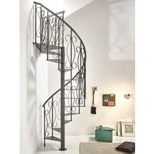 らせん階段『SlimUnique』(スリム)スチール製・屋内用 製品画像
