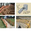 勾配や曲線に対応できる木柵【ユニバーサルガード】 製品画像