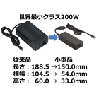200W ACアダプター【世界最小クラス】 製品画像