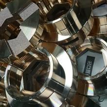 加工事例『鋳造品砲金BC6の旋盤加工Φ100』 製品画像