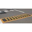 速度抑制装置「スピード・ウォール/車両用注意喚起プレート」 製品画像